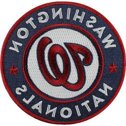 2011 Washington Nationals Sleeve Emblem Patch Jersey Road Ho