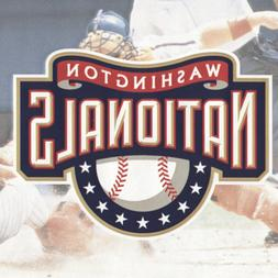 Blue Mountain Wallcoverings 5815424 Washington Nationals MLB
