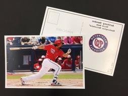 Anthony Rendon Nationals 2017 Major League Baseball 4x6 Post