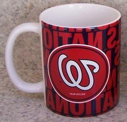 Coffee Mug Sports MLB Washington Nationals NEW 11 ounce cup