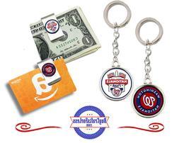 FREE DESIGN >WASHINGTON NATIONALS  -Money/Gift Card Clip or