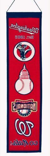 MLB Washington Nationals Heritage Banner