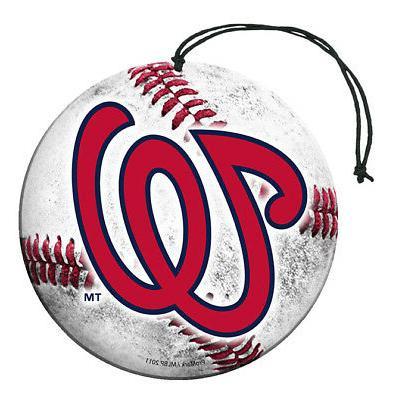 washington nationals baseball air freshener vanilla scent