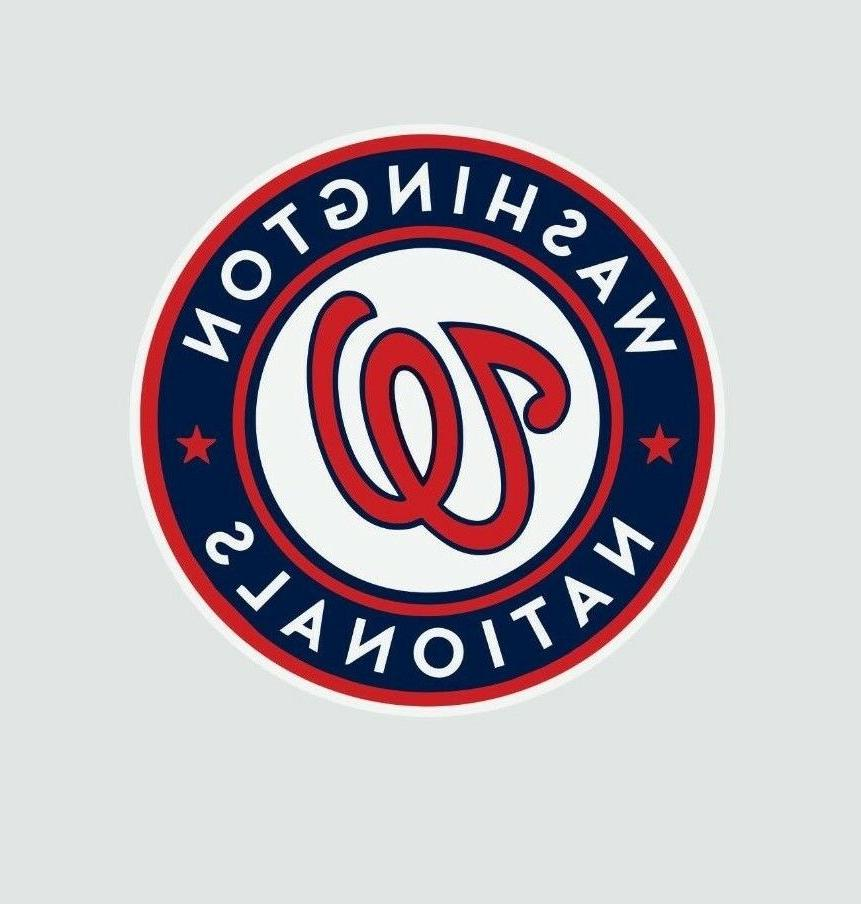 washington nationals mlb baseball color logo sports