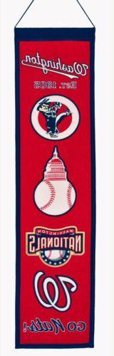 Washington Nationals Sport Team Heritage Banner 2030