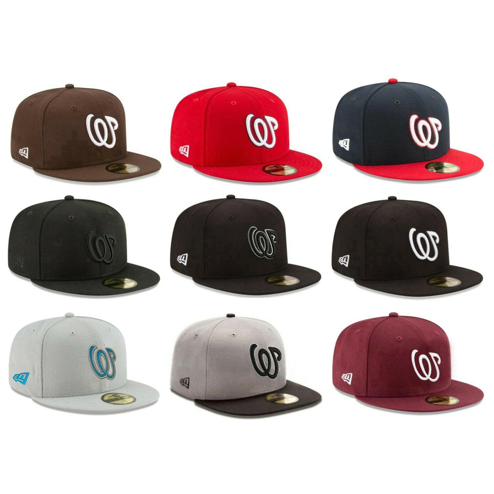 washington nationals was mlb authentic 59fifty fitted