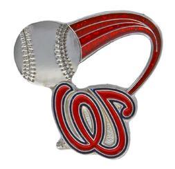 MLB Washington Nationals Glitter Trail Pin