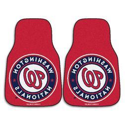 FANMATS MLB Washington Nationals Nylon Face Carpet Car Mat