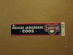 MLB Washington Nationals Vintage 2005  Inaugural Season Base