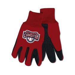 NCAA McArthur LSU Tigers Two-Tone Utility Gloves - Purple/Go