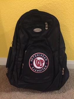 New MLB Washington Nationals Backpack NATS Baseball Denco RA