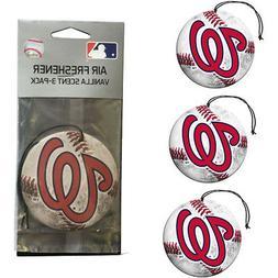New MLB Washington Nationals Premium Hanging Air Freshener 3