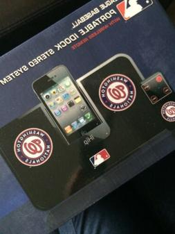 NEW NIB Washington Nationals MLB Portable Idock Stereo Syste