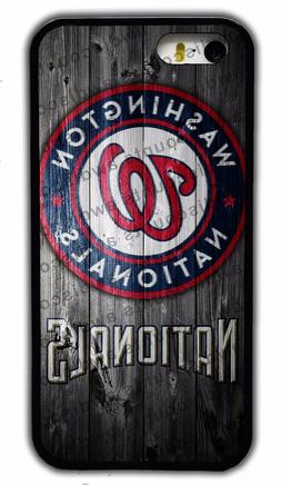 NEW WASHINGTON NATIONALS MLB RUBBER PHONE CASE FOR IPHONE 4S