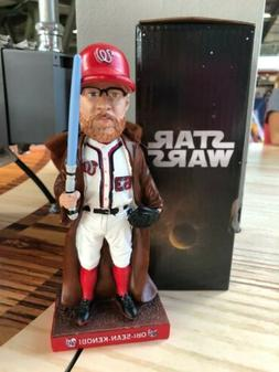Obi Sean Kenobi Washington Nationals Bobblehead 6/15/19 NIB