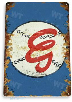 TIN SIGN Washington Nationals Baseball Rustic Sports Sign A1
