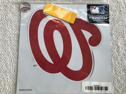 """WASHINGTON NATIONALS 8"""" OUTDOOR RATED MAGNET BY SISKIYOU SPO"""