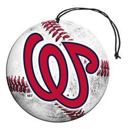 Washington Nationals Baseball Air Freshener Vanilla Scent 3