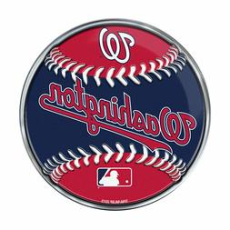"Washington Nationals Baseball Emblem MLB 3.25"" x 3.25"""