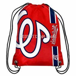 Washington Nationals Baseball Logo Drawstring Bags Men Sport