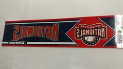 Washington Nationals Bumper Sticker