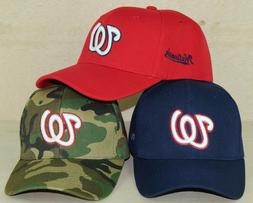 Washington Nationals Glow In The Dark Low Profile MLB Cap Ha