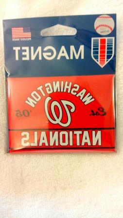 Washington Nationals Magnet MLB 2.5x3.5