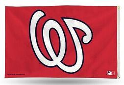 Washington Nationals MLB Banner Flag 3' x 5'  ~NEW