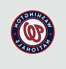 Washington Nationals MLB Baseball Color Logo Sports Decal St