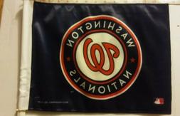 washington nationals mlb car window double sided