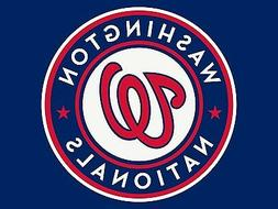 WASHINGTON NATIONALS MLB DOUBLE SIDED CAR TRUCK AUTO FLAG **