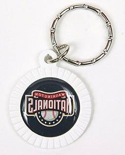 Washington Nationals MLB Keychain & Keyring - Circle