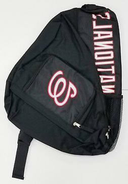 Washington Nationals Premium Backpack Heavy Duty Sling Desig