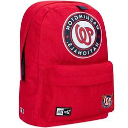 Washington Nationals New Era Red Heritage Patch Backpack