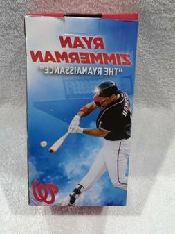 Washington Nationals Ryan Zimmerman Bobblehead MLB from 6/8/
