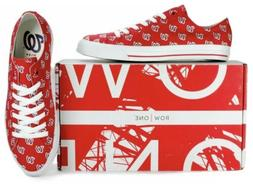 WASHINGTON NATIONALS Row One Victory Shoes Unisex KIDS  WOME