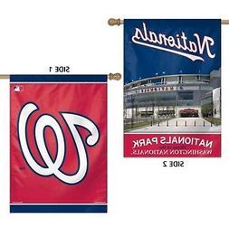 Washington Nationals WC Premium 2-sided 28x40 Banner Outdoor